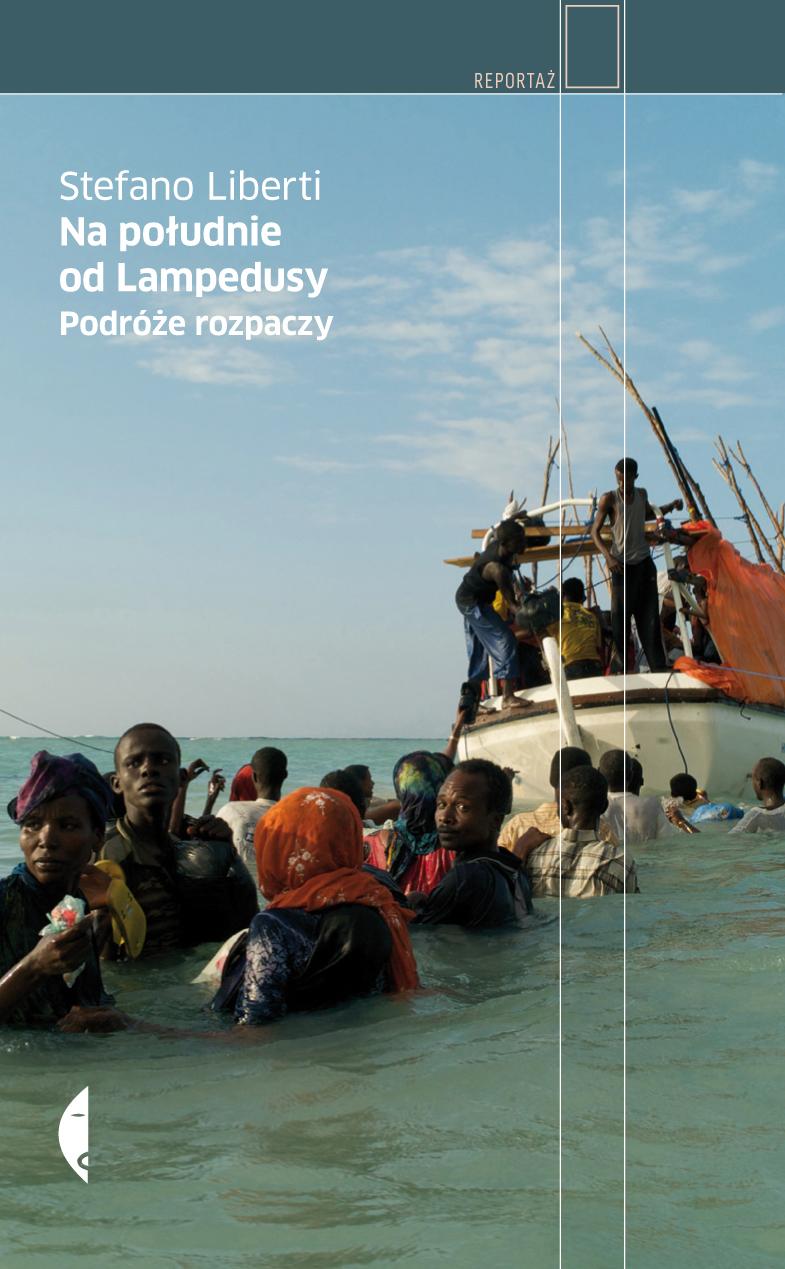 Na południe od Lampedusy - okładka